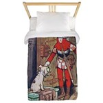 The Soldier and The Dog Twin Duvet