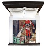 The Soldier and The Dog King Duvet