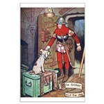 The Soldier and The Dog Large Poster