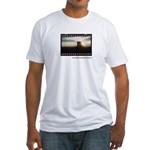 Monument Valley Sunrise Framed Fitted T-Shirt