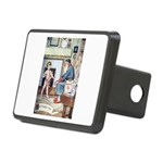 The Naughty Boy Rectangular Hitch Cover