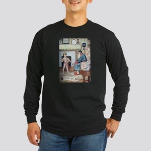 The Naughty Boy Long Sleeve Dark T-Shirt