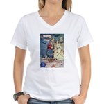 The Traveling Companions Women's V-Neck T-Shirt