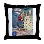 The Traveling Companions Throw Pillow