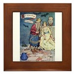 The Traveling Companions Framed Tile