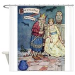 The Traveling Companions Shower Curtain