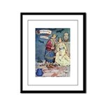 The Traveling Companions Framed Panel Print