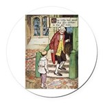 The Tin Soldier Round Car Magnet