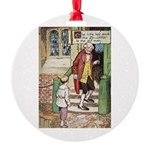 The Tin Soldier Round Ornament