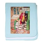 The Tin Soldier baby blanket