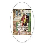 The Tin Soldier Sticker (Oval)