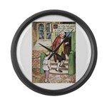 The Tin Soldier Large Wall Clock