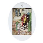 The Tin Soldier Ornament (Oval)