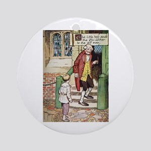 The Tin Soldier Ornament (Round)