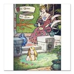 The Queen and Elise Square Car Magnet 3