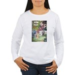 The Queen and Elise Women's Long Sleeve T-Shirt