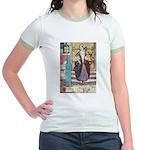 The Girl Who Trod on the Loaf Jr. Ringer T-Shirt