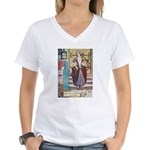 The Girl Who Trod on the Loaf Women's V-Neck T-Shi