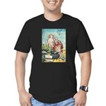 The Little Mermaid Men's Fitted T-Shirt (dark)