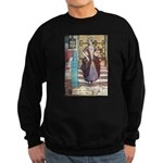 The Girl Who Trod on the Loaf Sweatshirt (dark)