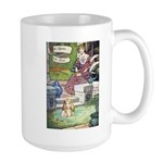 The Queen and Elise Large Mug