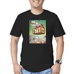 The Flying Trunk Men's Fitted T-Shirt (dark)