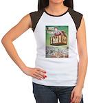 The Flying Trunk Women's Cap Sleeve T-Shirt