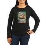 The Flying Trunk Women's Long Sleeve Dark T-Shirt