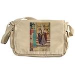 The Girl Who Trod on the Loaf Messenger Bag