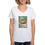 The Flying Trunk Women's V-Neck T-Shirt