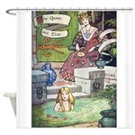 The Queen and Elise Shower Curtain