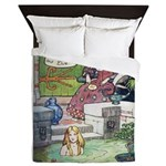 The Queen and Elise Queen Duvet