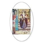 The Girl Who Trod on the Loaf Sticker (Oval 10 pk)