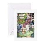 The Queen and Elise Greeting Cards (Pk of 10)
