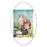The Little Mermaid Sticker (Oval 50 pk)