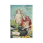 The Little Mermaid Rectangle Magnet (100 pack)