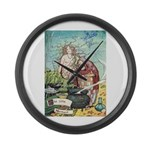 The Little Mermaid Large Wall Clock
