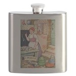 The Steadfast Tin Soldier Flask