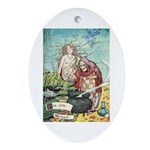 The Little Mermaid Ornament (Oval)