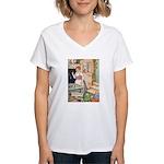 The Steadfast Tin Soldier Women's V-Neck T-Shirt