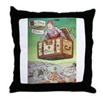 The Flying Trunk Throw Pillow
