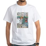 The Old Woman and Gerda White T-Shirt