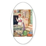 The Steadfast Tin Soldier Sticker (Oval 10 pk)