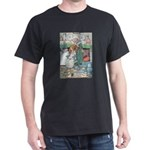 The Old Woman and Gerda Dark T-Shirt