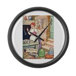 The Steadfast Tin Soldier Large Wall Clock