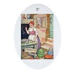 The Steadfast Tin Soldier Ornament (Oval)