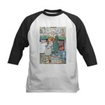 The Old Woman and Gerda Kids Baseball Jersey