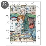 The Old Woman and Gerda Puzzle