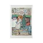 The Old Woman and Gerda Rectangle Magnet (100 pack