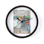 The Old Woman and Gerda Wall Clock